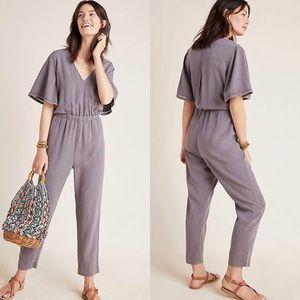 NWT Anthropologie Cloth & Stone Gulpiyuri Jumpsuit
